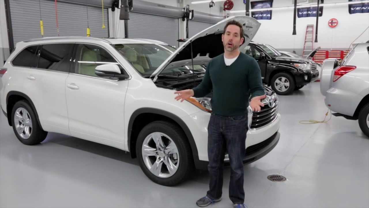Toyota Highlander 2014/2015 Walkaround - YouTube