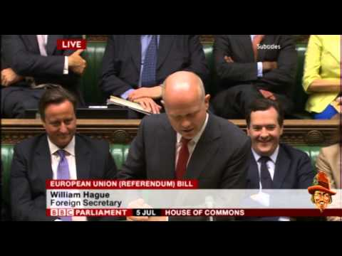 Hague EU Debate Highlights