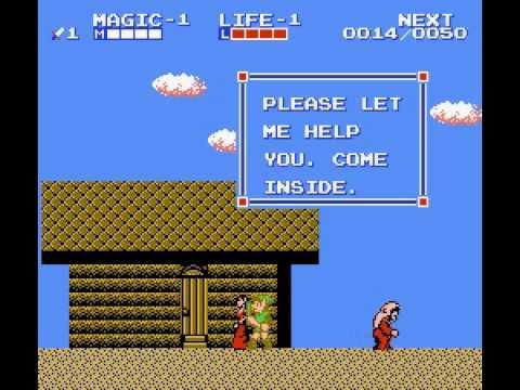 Zelda II - The Adventure of Link - RetroGameNinja Plays: Zelda II - The Adventure of Link (NES) - User video