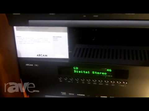 CEDIA 2013: American Audio & Video (Importers of ARCAM) shows The Line of AV Receivers