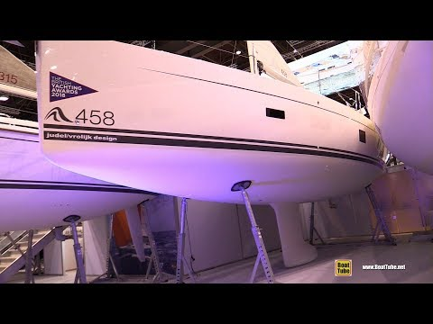 2019 Hanse 458 Sailing Yacht - Deck and Interior Walkaround - 2019 Boot Dusseldorf