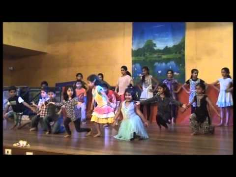 Sydney Kannada School Kids Performing Geli Song video