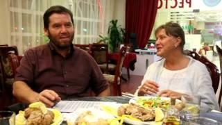 Исмагил Шангареев и Елена Проклова купили рыбу,пожарили её и съели