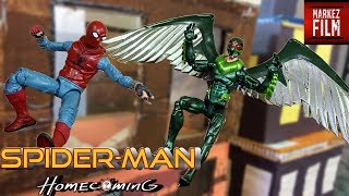 Spider-Man Homecoming Stop Motion Vulture VS Spider-Man