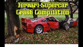 Best Supercar Ferrari Crash Fails #1 2019