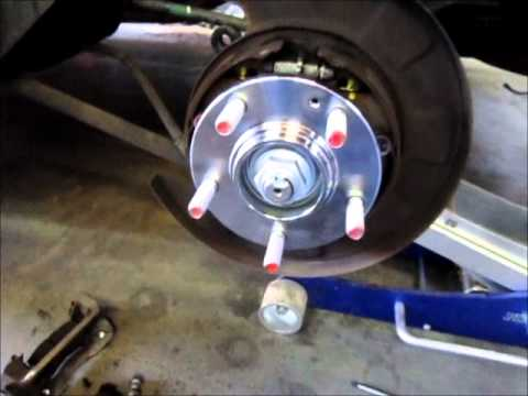 Kia Sportage Wheel Bearing Replacement Youtube