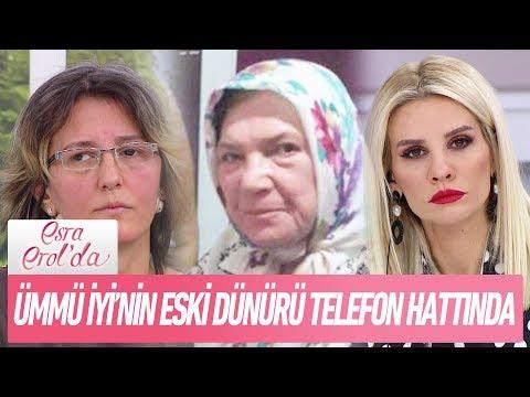 Ümmü İyi'nin eski dünürü telefon bağlantısında.. - Esra Erol'da 11 Aralık 2017
