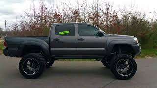 "Lifted 2015 Toyota Tacoma. 10-12"" Bulletproof Lift. 22"" Fuels."