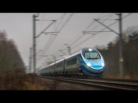 https://www.facebook.com/KolejFilmy Dnia 23.11.2013 poci�g ED250, czyli Pendolino pobi� na CMK nie tylko polski rekord pr�dko�ci, ale i rekord Europy �rodkow...