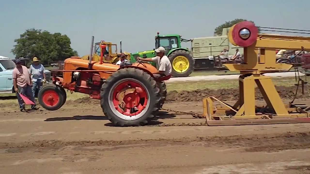 Case Ih Pulling Tractors : Antique mccormick farmall or possibly case tractor at a