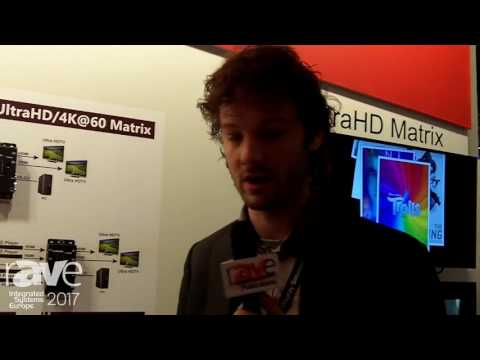 ISE 2017: Avlink Talks About 2×2/4×2 UltraHD/4K@60 Matrix Switches