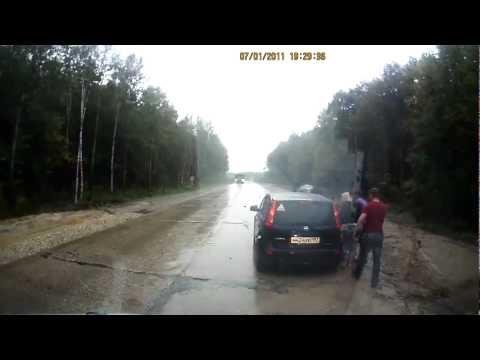 ДТП на трассе Тамбов-Москва, 29.08.2012, все живы