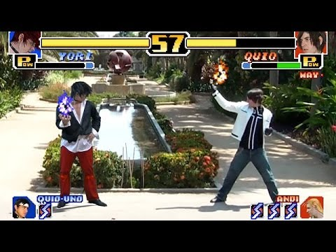 Un par de parodias de The King of Fighters en la vida real