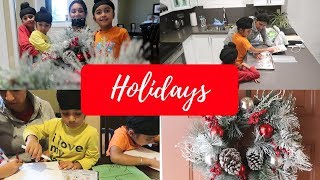 Holiday Baking & Crafts With Kids | MOM BOSS OF 3