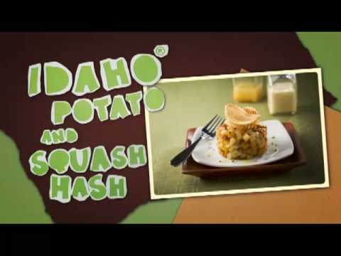 Idaho Potato and Squash Hash