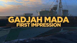 World of Warships - Gadjah Mada First Impression