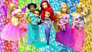 Mother's Day Special Disney Princess Toddler Makeup Barbie Surprise Costumes for Dinner Party