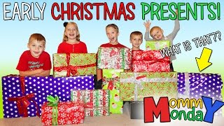 EARLY CHRISTMAS PRESENTS!! || Mommy Monday