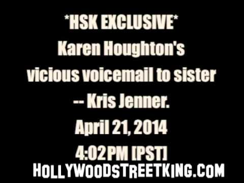 Kris Jenner's Ratchet Voicemail From Enraged Sister Leaked! [EXCLUSIVE AUDIO]