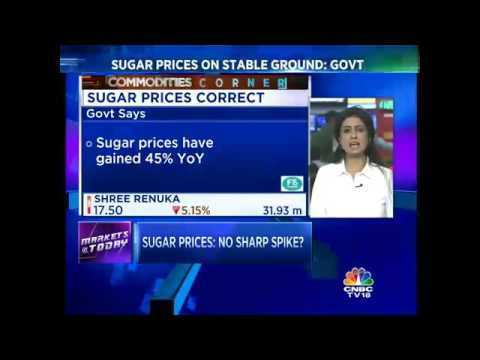 Sugar Prices On Stable Ground: Government