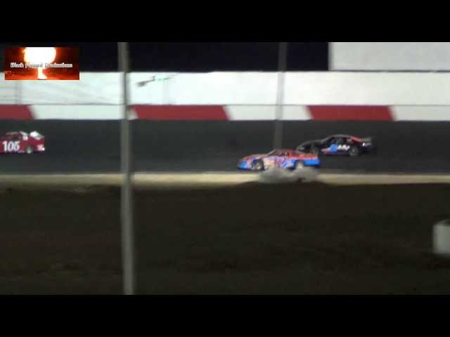 Late Model Main Event At Tucson Speedway April 20th 2013 (Part 2)