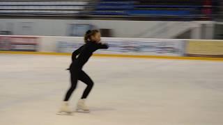 Laczkó Larissza Vanda Basic Novice Interpretáló Program Mikulás Kupa 2018