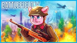 BATTLEFIELD V CLOSED ALPHA MULTIPLAYER GAMEPLAY! (Sniping, Vehicles, Planes, & More Presented by EA)