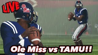 Ole Miss vs TAMU | NCAA Football Dynasty | Toughest Test of the Season