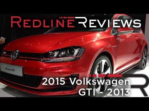 2015 Volkswagen GTI - 2013 New York International Auto Show