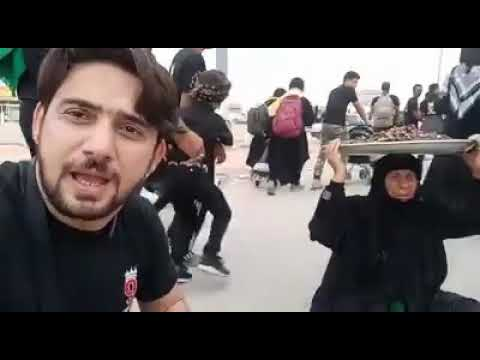 Arbaeen 2018 Najaf to Karbala Walk Farhan Ali Waris