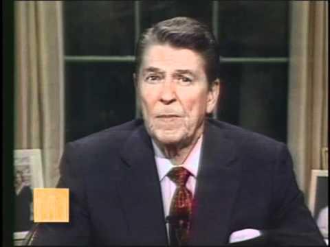 President Reagan: Speech on Airstrikes Against Libya, April 14, 1986