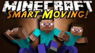 Minecraft Mod Showcase : SMART MOVING!