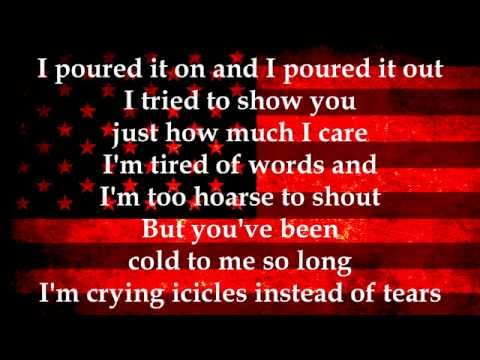 Meatloaf Two Out Of Three Aint Bad Lyrics video