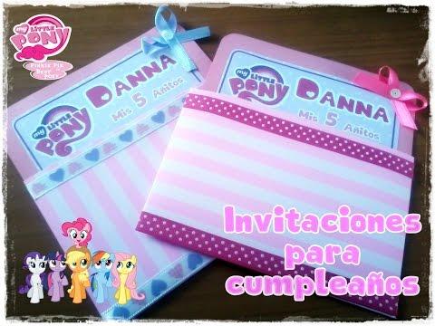 Invitaciones para cumpleaños / CorelDraw x5