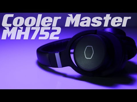 Cooler Master MH752 7.1 Gaming Headset Review:  Handsome Looks and Crazy Comfort