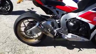 honda cbr 1000rr sp austin racing exhaust sound