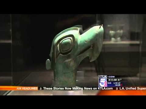 KTLA interview for China's Lost Civilization