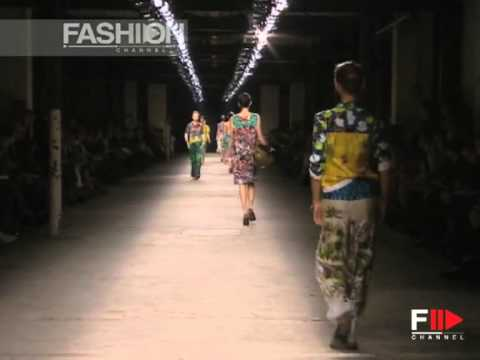 Dries Van Noten S/S 2008 - youtube