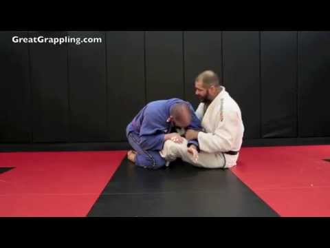 Lapel Choke from Butterfly Guard Image 1