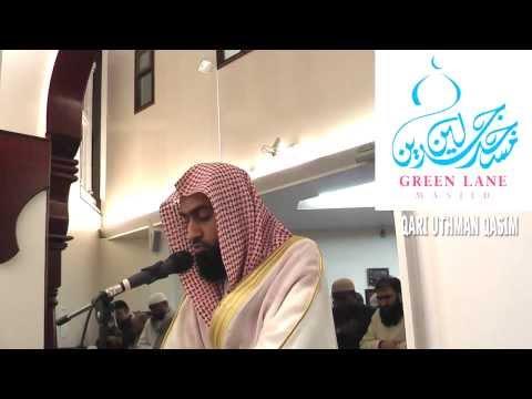 Surah Saad - Taraweeh Prayer UK 2011 - Qari' Muhammad Uthman Al-Qasim