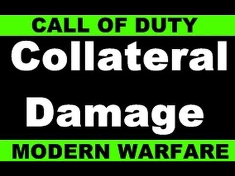 COLLATERAL DAMAGE CHALLENGE COMPLETE - PS3 - Call of duty 4 live online gaming!!