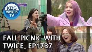 Fall picnic with TWICE!! [Entertainment Weekly/2018.11.12]