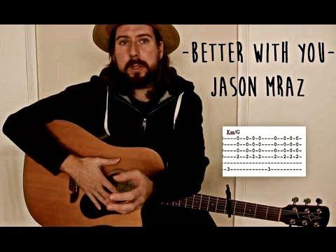 Download Lagu  Better with you - Jason Mraz guitar tutorial Mp3 Free