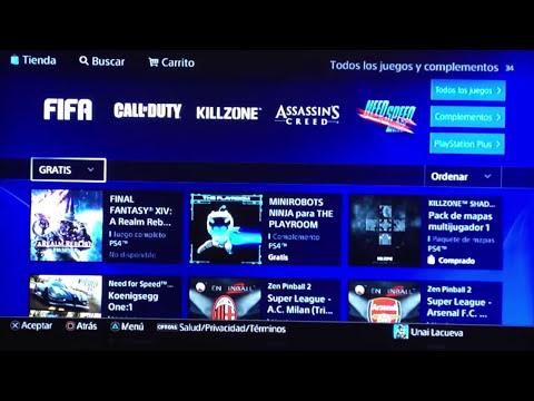 Proceso Descargar Juegos Digitales Gratis PSN [PS4]