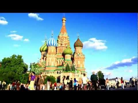 Москва 2012 Moscow Russia ЯРКОЕ ВИДЕО ПУТЕШЕСТВИЕ(смотреть в HD)