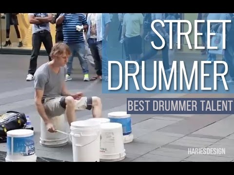 Amazing Street drummer and Best Drummer Talent