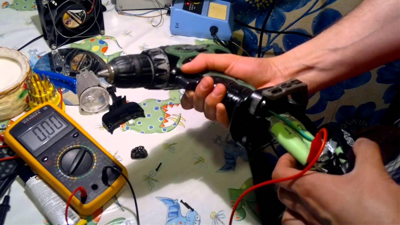 Ремонт аккумулятора шуруповерта своими руками хитачи 67