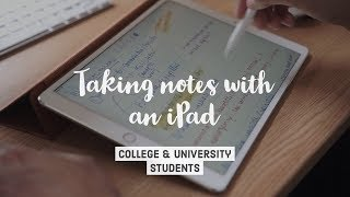 How I take notes on my iPad Pro in medical school - Cambridge University medical student
