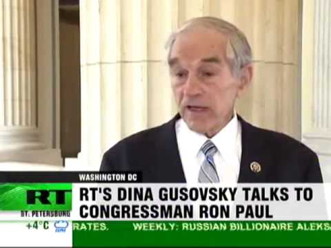 Congressman Ron Paul: Health Care Bill and Wars Will Bankrupt U.S.A.