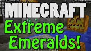 Minecraft Map Seed - Extreme Emeralds (Scavenger Hunt Challenge!)